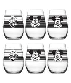 Conjunto-de-Copos-Decorados---460-ml---06-Pecas---Disney-Feliz---Nadir-Figueiredo