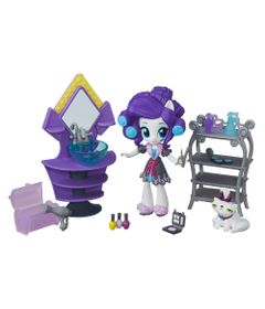 Cenario-com-Mini-Equestria-Girls---My-Little-Pony---Colecao-de-Beleza-Festa-do-Pijama---Rarity---Hasbro