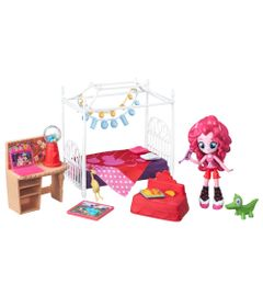 Cenario-com-Mini-Equestria-Girls---My-Little-Pony---Quarto-da-Pinkie-Pie---Hasbro