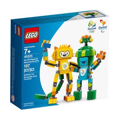 LEGO - Mascotes Olimpíadas Rio 2016 - Tom e Vinícius - 40225