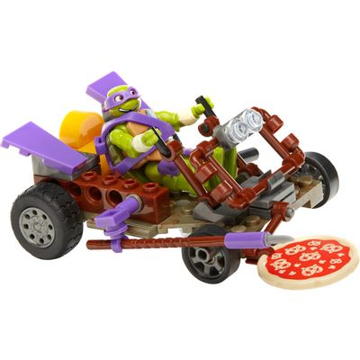 Mega-Bloks---Tartarugas-Ninja---Veiculo-Pizza-Buggy-do-Donnie---Mattel