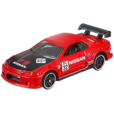 Veiculos-Hot-Wheels---Serie-Gran-Turismo---Nissan-Skyline-GT-R-R32---Mattel