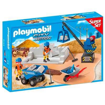 Playmobil---City-Action---Super-Set---Contrucao---6144---Sunny