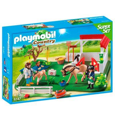 Playmobil---Country---Super-Set---Parque-dos-Cavalos---6147---Sunny