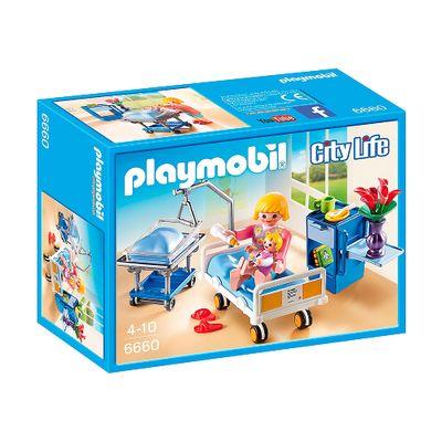 Playmobil---City-Life---Sala-da-Maternidade-com-Mamae-e-Bebe---6660---Sunny