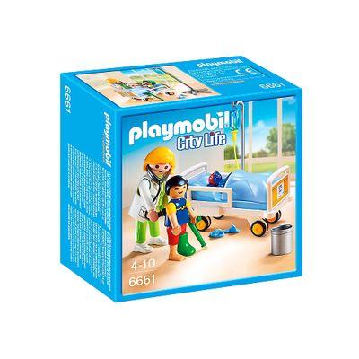 Playmobil---City-Life---Pediatra-com-Crianca-e-Leito---6661---Sunny