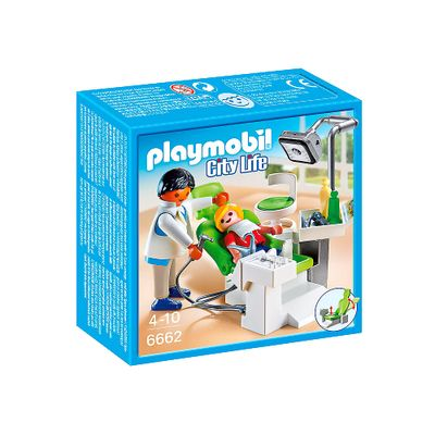 Playmobil---City-Life---Dentista-e-Paciente---6662---Sunny