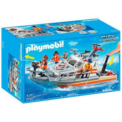 Playmobil---City-Life---Bote-de-Resgate-da-Guarda-Costeira---5540---Sunny