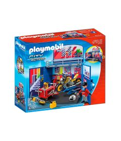 Playmobil---City-Action---Oficina-Secreta-com-Moto---6157---Sunny