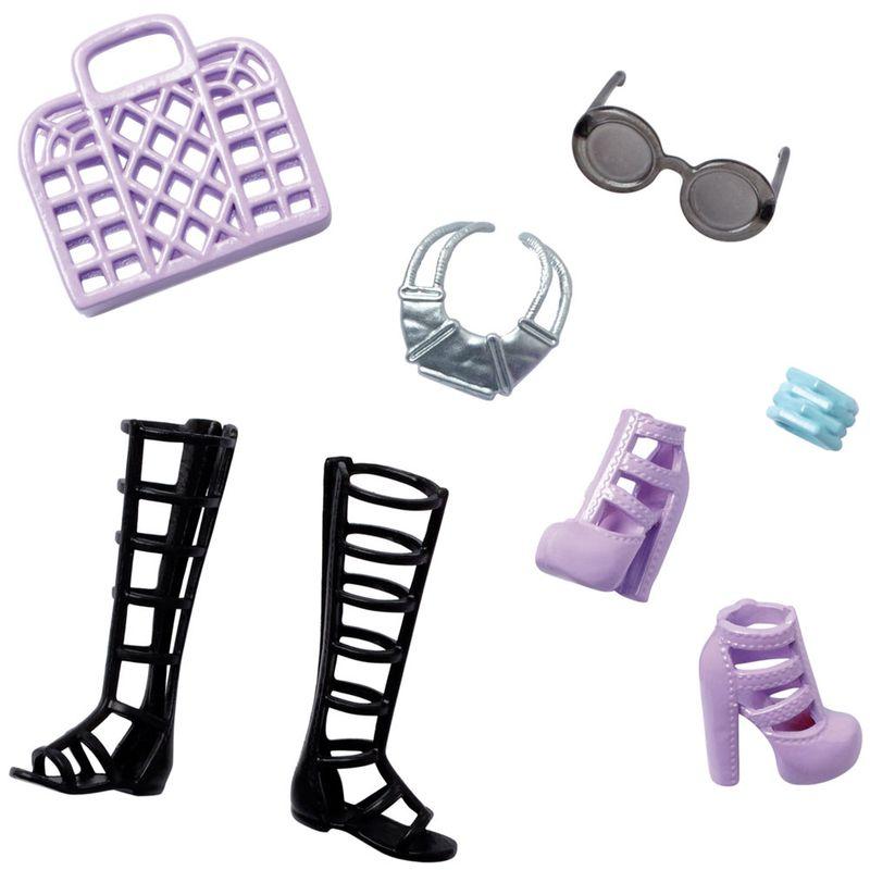159cc9e4b Acessórios Barbie - Bolsas e Sapatos - Série 11 - Mattel - PBKIDS