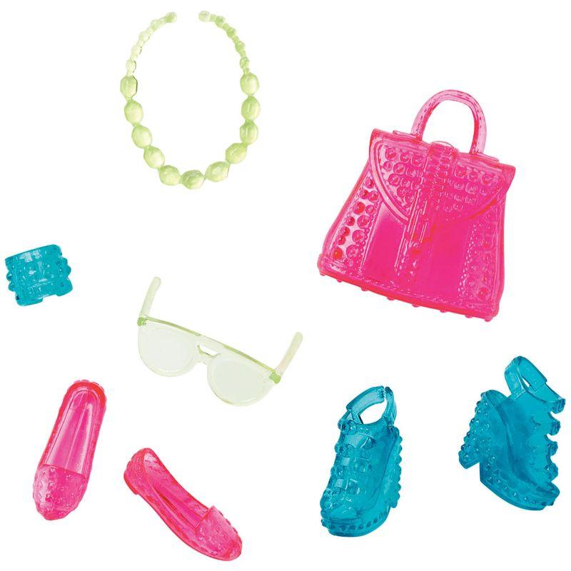 35285daea Acessórios Barbie - Bolsas e Sapatos - Série 12 - Mattel - Ri Happy  Brinquedos