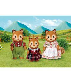 Sylvanian-Families---Familia-dos-Pandas-Vermelhos---Noz---Epoch