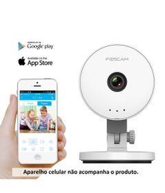 Baba-Eletronica-IP---C1-Lite---Camera-1.0-MP-HD-e-Tecnologia-Plug---Play---Foscam