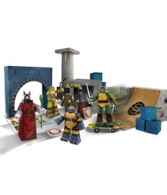 Playset---Kit-de-Montagem---As-Tartarugas-Ninja---90-Pecas---New-Toys
