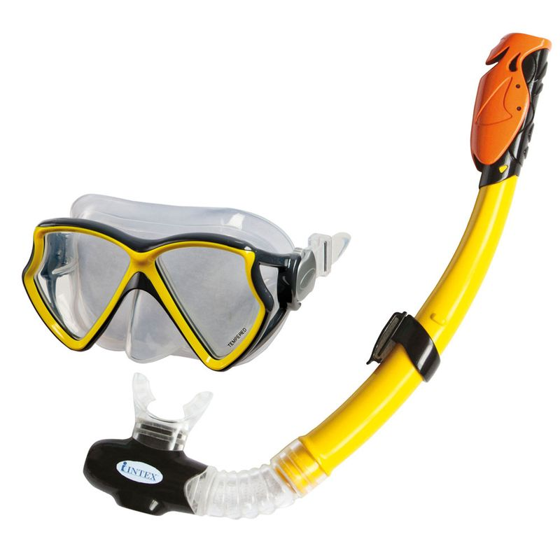 bd43eaf0aff43 Kit Mergulhador Aviador - Óculos com Snorkel - New Toys - Ri Happy  Brinquedos