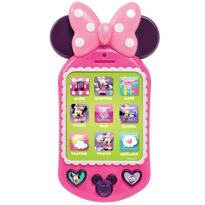Celular-Infantil---Disney---Minnie-Mouse---New-Toys