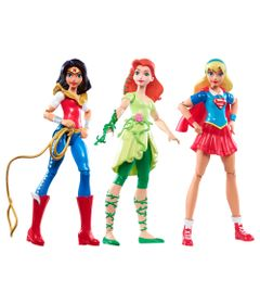 Bonecas-de-Acao---15-cm---DC-Super-Hero-Girls---Wonder-Woman-Supergirl-e-Poison-Ivy---Mattel