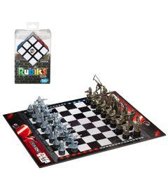 Kit--Jogo-de-Xadrez-com-Personagens-Miniaturas---Star-Wars---Episodio-VII---Rebels-Vs-First-Order---Jogo-de-Raciocinio---Rubik-s-Cubo-Magico---Hasbro