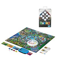 Kit-Jogo-Game-of-Life-Eletronico---Jogo-de-Raciocinio---Rubik-s-Cubo-Magico---Hasbro
