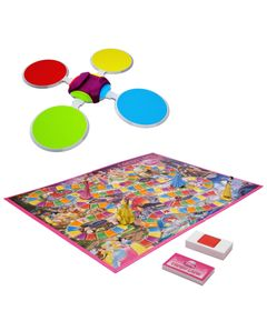 Kit-Twister-Moves---Hip-Hop-Spots---Jogo-Candy-Land-Princesas-Disney---Hasbro