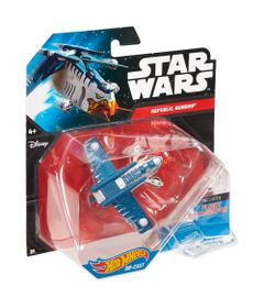 Nave-Star-Wars---Republic-Gunship----Hot-Wheels---Mattel