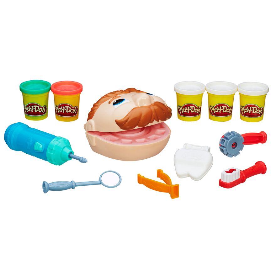 Conjunto-Massa-de-Modelar---Play-Doh---Dentista---Hasbro