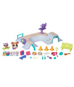 Playset-Littlest-Pet-Shop---Pista-de-Skate---Hasbro
