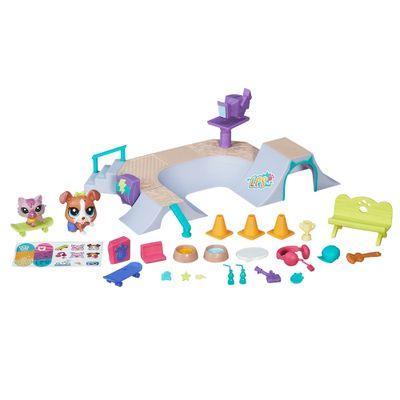 Playset-Littlest-Pet-Shop---Pista-de-Skate---Hasbro