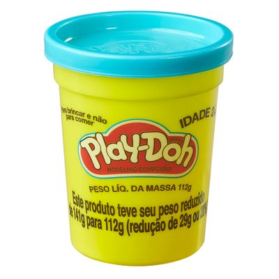Massa-de-Modelar---Play-Doh---Pote-individual---112-gramas---Azul-Turquesa---Hasbro