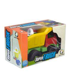 Carrinho-de-Praia---Super-Truck-com-Acessorios---Amarelo-e-Vermelho---Monte-Libano
