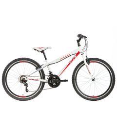 Bicicleta-ARO-24---MTB-Volt-Teen---Branca-e-Vermelha---Tito-Bikes