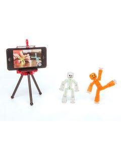 Playset-e-Mini-Figuras-Articualdas---Estudio-Stikbot---Estrela