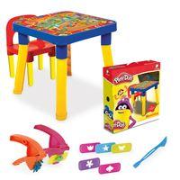 Mesinha-e-Cadeira-Play-Doh---Massa-de-Modelar-e-Acessorios---Monte-Libano