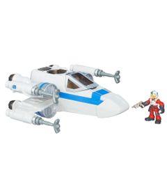 Veiculo-com-Figura---Playskool-Galactic-Hero---Resistence-X-Wing-Fighter---Hasbro