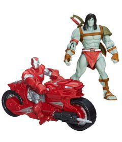 Kit-Boneco-Articulado-15---Skaar-e-Boneco-Hero-Mashers-Iron-Man-Hotshot-Hot-Rod---Marvel---Hasbro