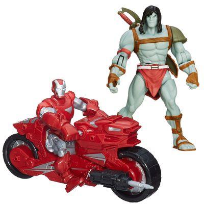 Kit-Boneco-Articulado-15---Skaar-e-Boneco-Hero-Mashers-Iron-Man-Hotshot-Hot-Rod---Marvel---Hasbro