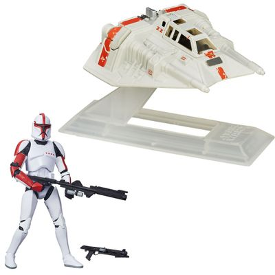 Kit-Figura-Colecionavel-Clone-Trooper-e-Veiculo-Die-Cast---First-Order-Snowspeeder---Star-Wars---VII---Hasbro