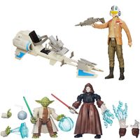 Kit-Bonecos-Transformaveis-Hero-Mashers---Yoda-e-Emperor-com-Boneco-e-Veiculo-Poe-Dameron---Star-Wars---VII---Hasbro