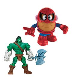 Kit-Boneco-Hero-Mashers-Skaar-e-Mini-Figura-Transformavel---Mr.-Potato-Head---Homem-Aranha---Marvel---Hasbro