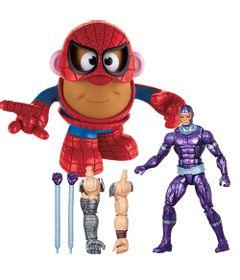 Kit-Boneco-Marvel-Legends-Machine-Man-e-Mini-Figura-Mr.-Potato-Head---Homem-Aranha---Marvel---Hasbro
