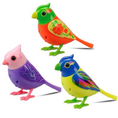 Conjunto-com-3-Passarinhos-Eletronicos---DigiBirds-Coloridos---DTC