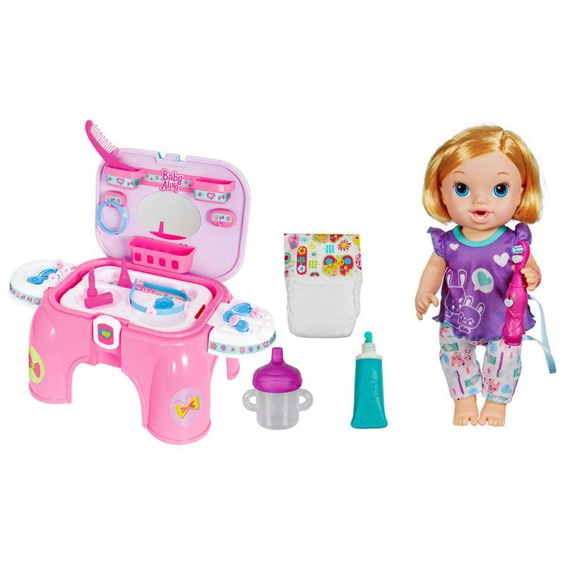 8237084a41 Conjunto Boneca e Acessórios Baby Alive - Boneca Bebê Bons Sonhos - Hasbro  com Kit Camarim - Cotiplás - Ri Happy Brinquedos