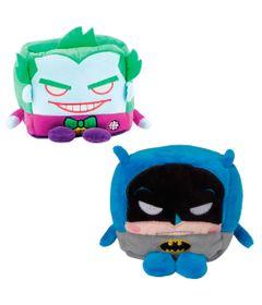 Conjunto-com-2-Pelucias---Cubomania-10-cm---DC-Comics---Coringa-e-Batman---Candide
