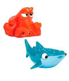 Conjunto-com-Brinquedos-de-Banho---15-cm---Disney---Procurando-Doy---Hank-e-Destiny---Sunny