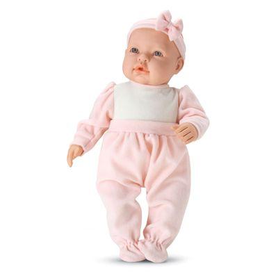 Boneca-Baby-By---Com-Roupinhas---Macaquinho-Rosa---Roma-Jensen