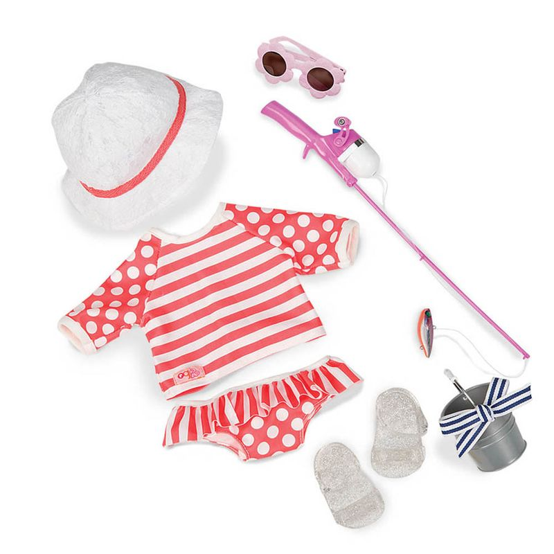 2f607d666 Conjunto Roupa de Pesca - Our Generation - Ri Happy Brinquedos