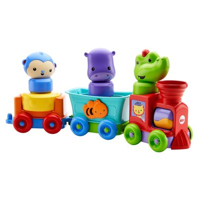 Trenzinho-Com-Mini-Figuras---Amigos-da-Floresta---Fisher-Price