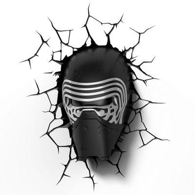 Luminaria-de-Parede---3D---Disney---Star-Wars---Episodio-VII---Kylo-Ren---Beek-Geeks
