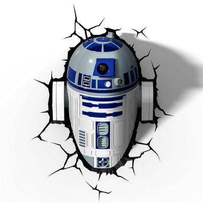 Luminaria-de-Parede---3D---Disney---Star-Wars---Episodio-VII---R2D2---Beek-Geeks