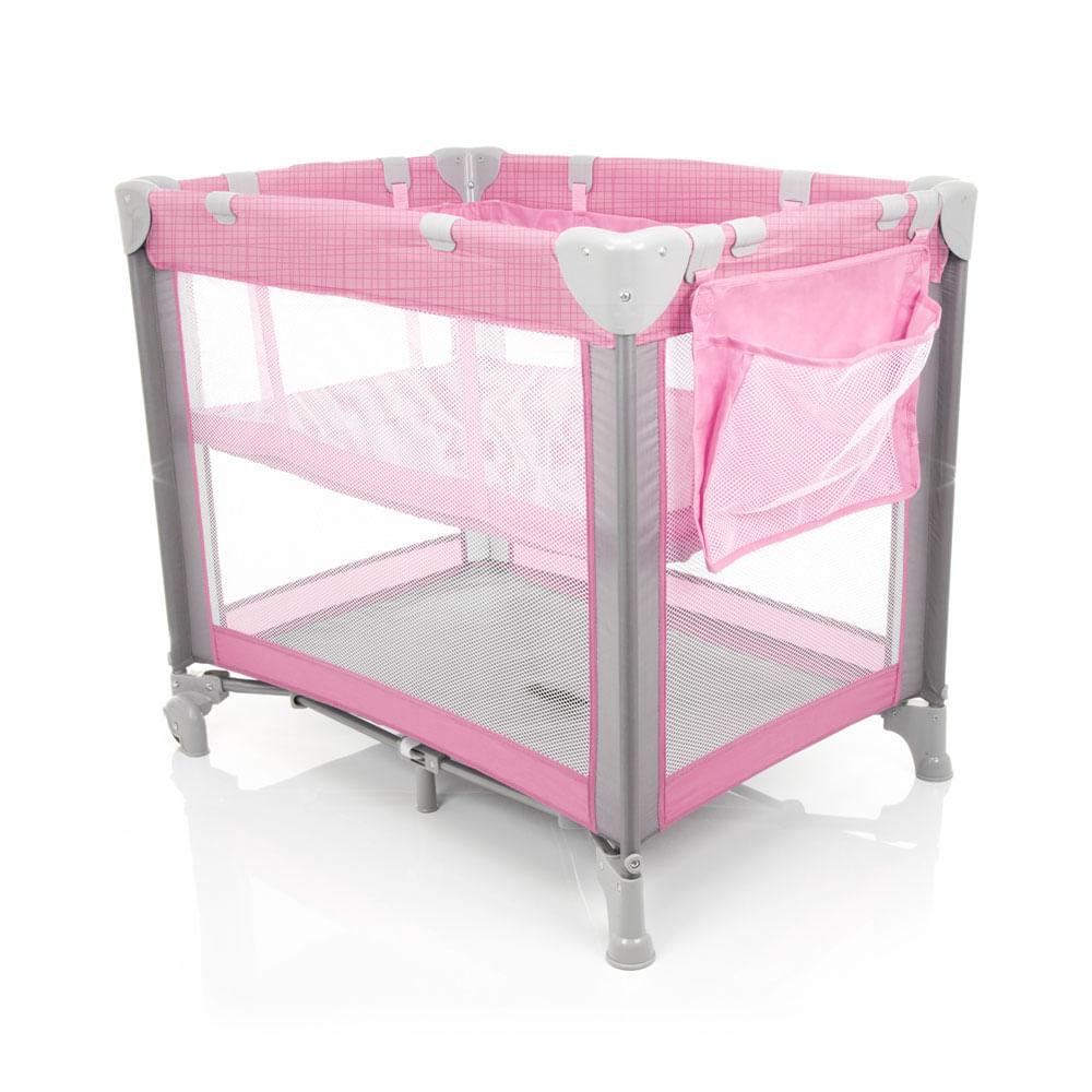 Berço Portátil - Mini Play Pop - Pink - Safety 1st